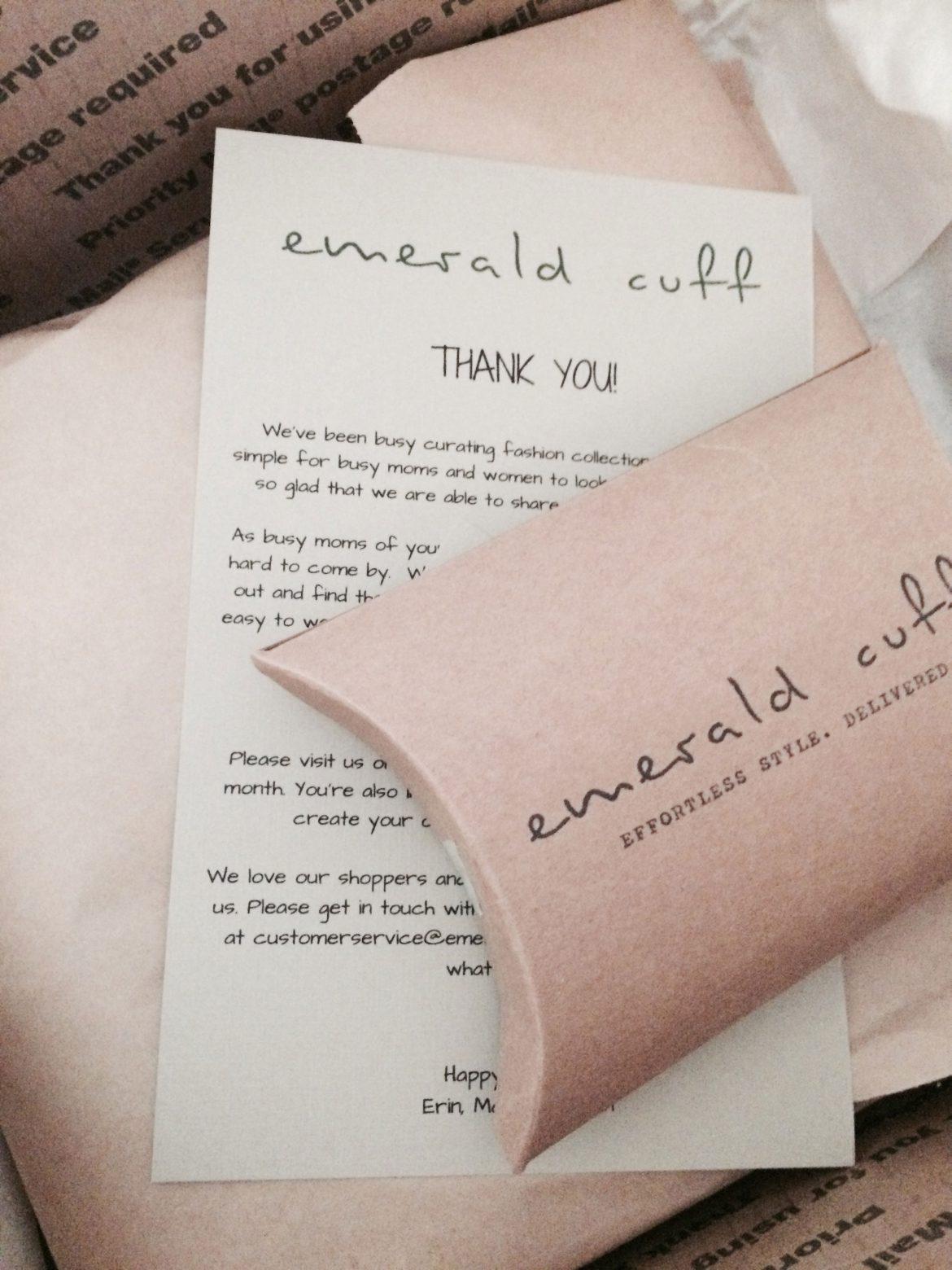 Emerald Cuff Package