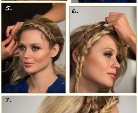 Joico Holiday Headband Braid